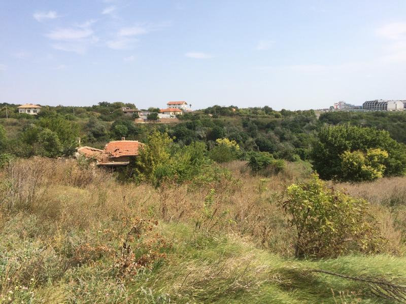 Plot with sea view in Topola