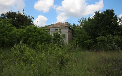 Cheap property in a nice village, close to a town