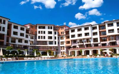 2-Zimmer-Wohnung in hügeliger Gegend 5 km zum Strand, Rogachevo