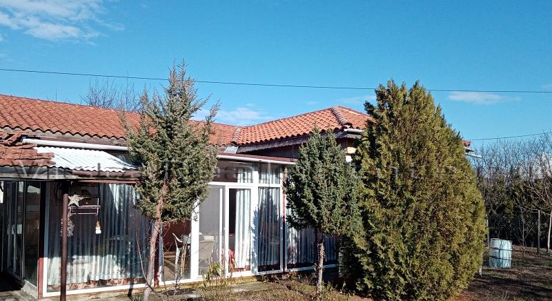 Big bungalow in a nice, hilly village near Provadia town