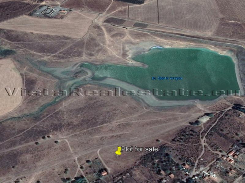Plot next to a lake