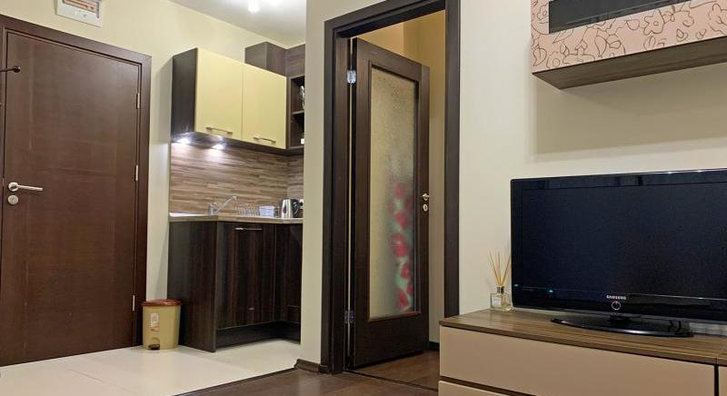 One bedroom apartment 100 m from the beach in Sveti Vlas, Burgas