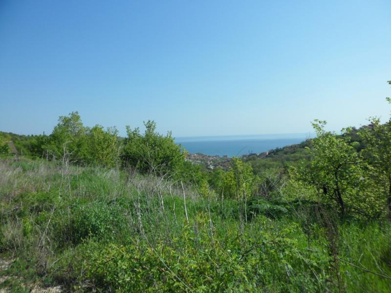 Plot with a sea view in Balchik