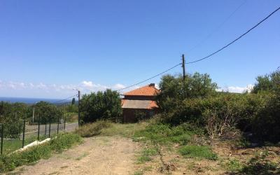 Huge plot 4000 sq m in the mountains with sea view