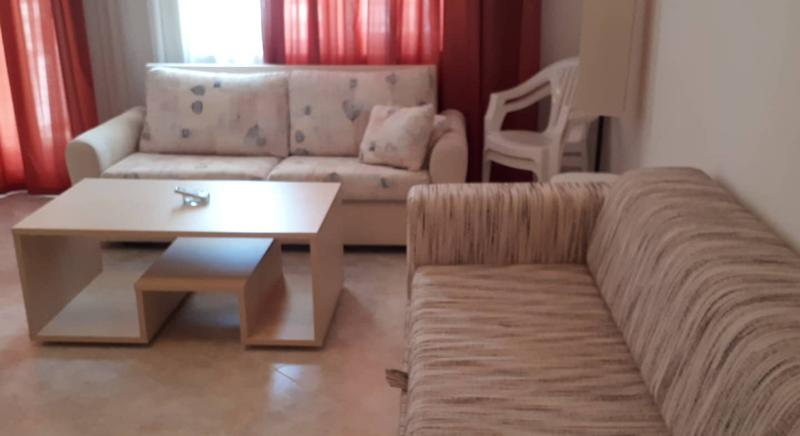 Large furnished one-bedroom apartment